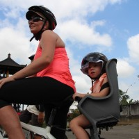 bike tour with toddler