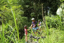 off road bike tour with kids