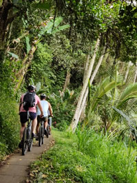 off-road trails bali cycling adventure