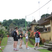 walk around the traditional village