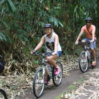 bamboo forest couple ride