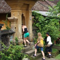 balinese house compound visit