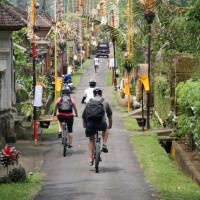 beautiful bali village