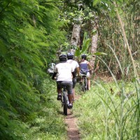 off-roads bali biking routes