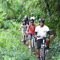 Off-roads bali cycling tracks #1