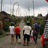 Visiting Penglipuran village