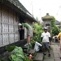 looking inside the traditional balinese house