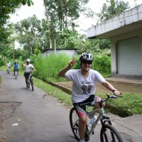 Bali Bike tour with Flavia