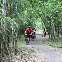 bamboo forest bike tour with Tim
