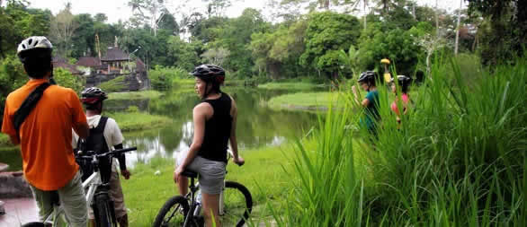 Unique Bali's cycling track, ride through hidden Bali