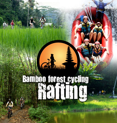 Downhill Cycling Tour + Rafting Tour