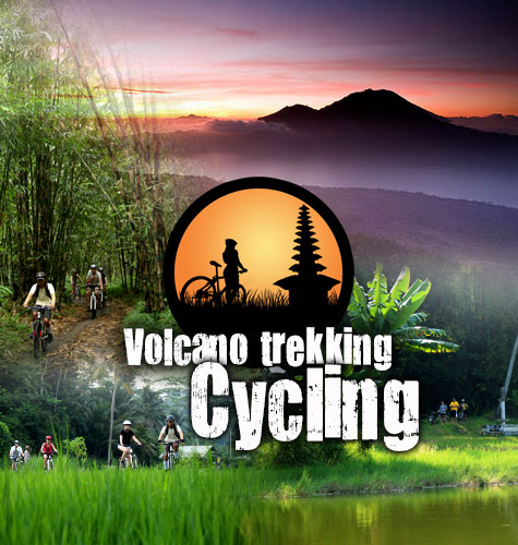 hiking cycling tour