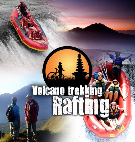 hiking-rafting combination tour