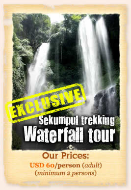 Waterfall trekking tour