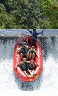 exhilarating rafting adventure