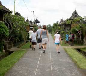 bike tours at penglipuran village